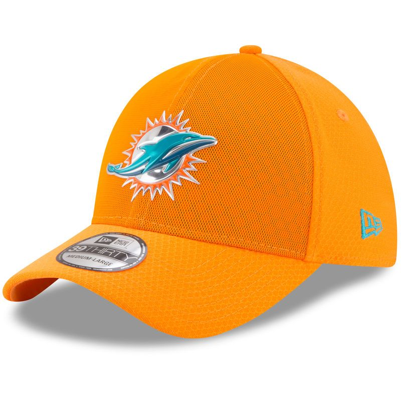 f9d9aa1a Miami Dolphins New Era Youth 2017 Color Rush 39THIRTY Flex Hat ...