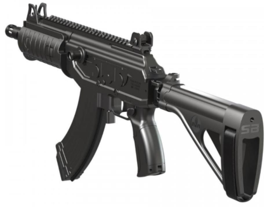 IWI GALIL ACE Pistol with Side Folding Stabilizer Brace 7 62