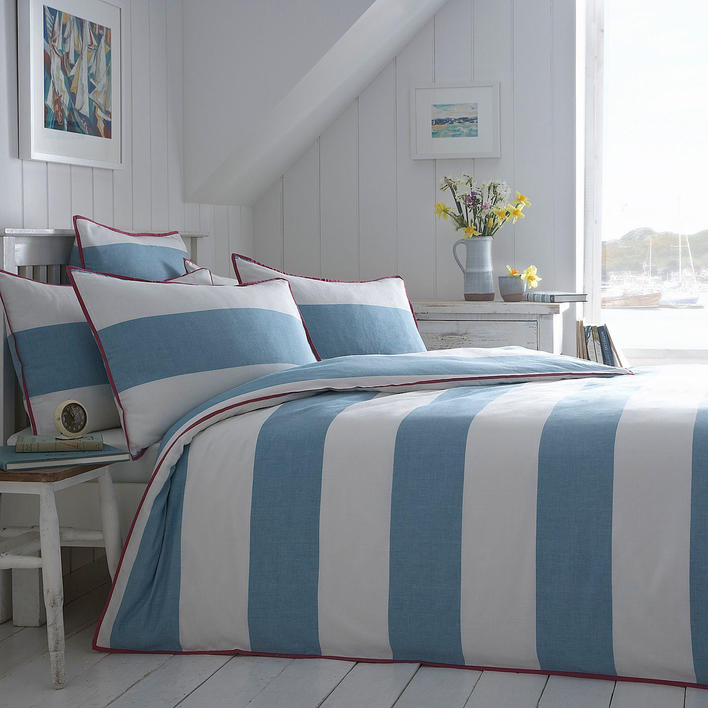 Buy Seasalt Cornish Stripe Bedding - John Lewis
