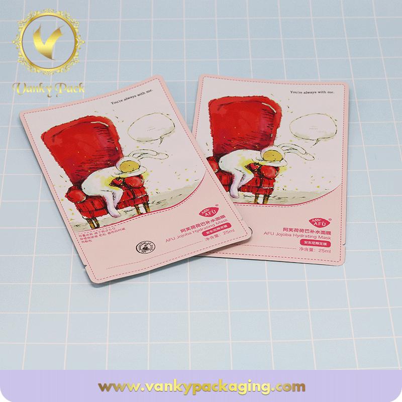 Facial Mask Packaging Three Sides Sealing Bag /Facial Mask