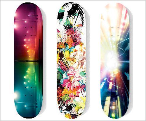 skateboard deck designs   chuck-anderson-no-pattern-skateboards ...