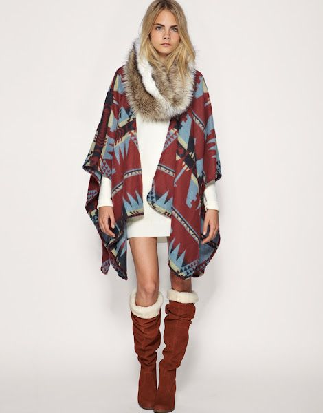 If winter is a season here - love the fur neckwarmer thingy and the boots