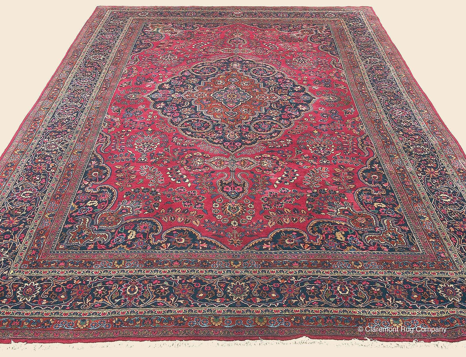 Meshed 11 1 X 14 11 Circa 1960 Price 5 500 Northeast Persian Antique Rug Claremont Rug Company Claremont Rug Company Rugs Oriental Persian Rugs