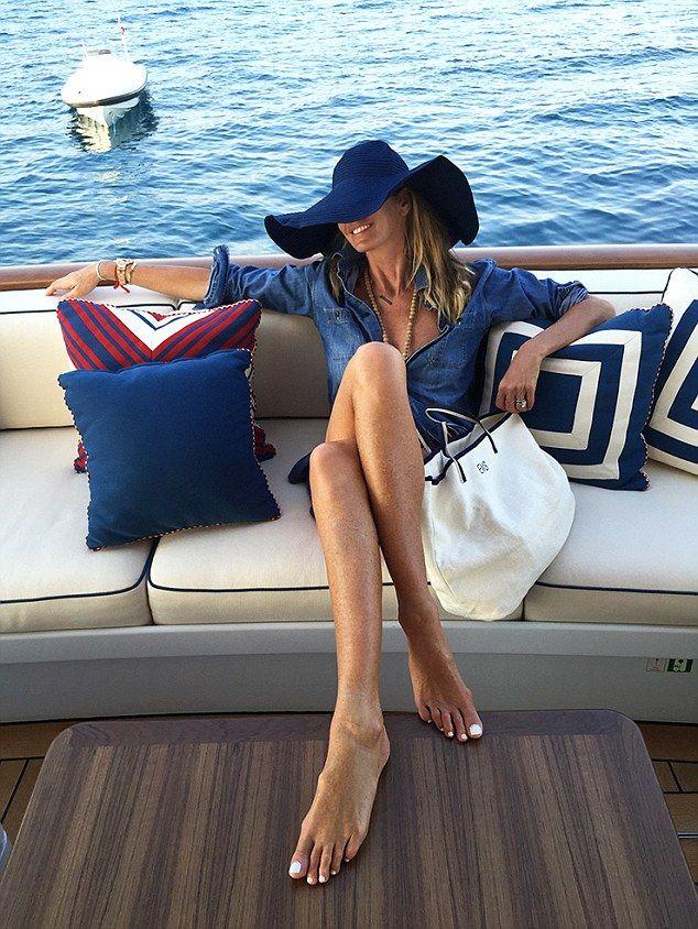 What excellent elle macpherson sex on boat