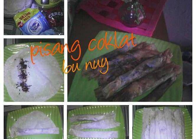 Resep Piscok Crispy Pisang Tanduk Oleh Nursanti Resep Pisang Tanduk Resep