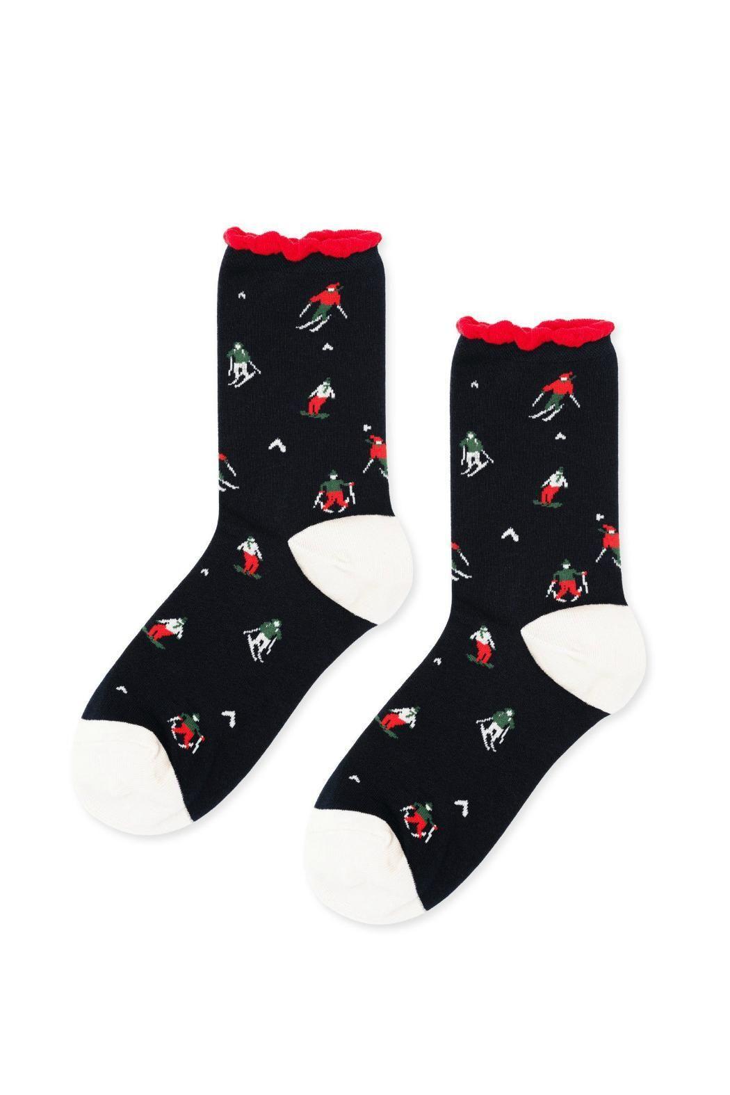 Ski Dazzle Crew Socks Socks, Socks women, Crew socks
