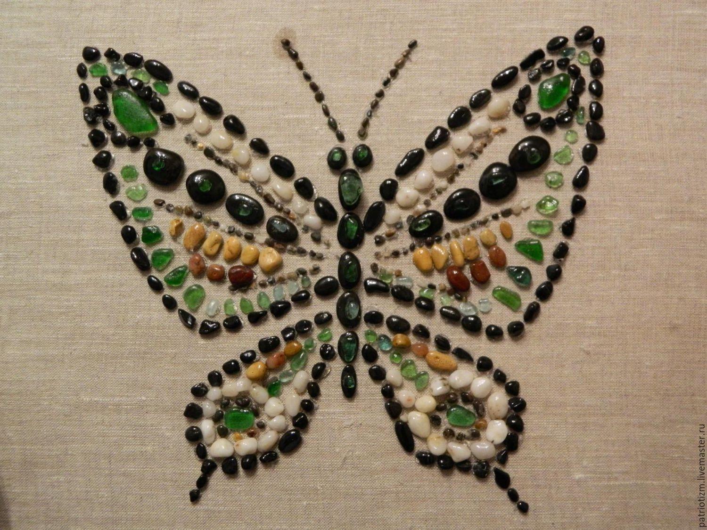 """Купить Панно """"Бабочка"""" - комбинированный, пано бабочка ..."""