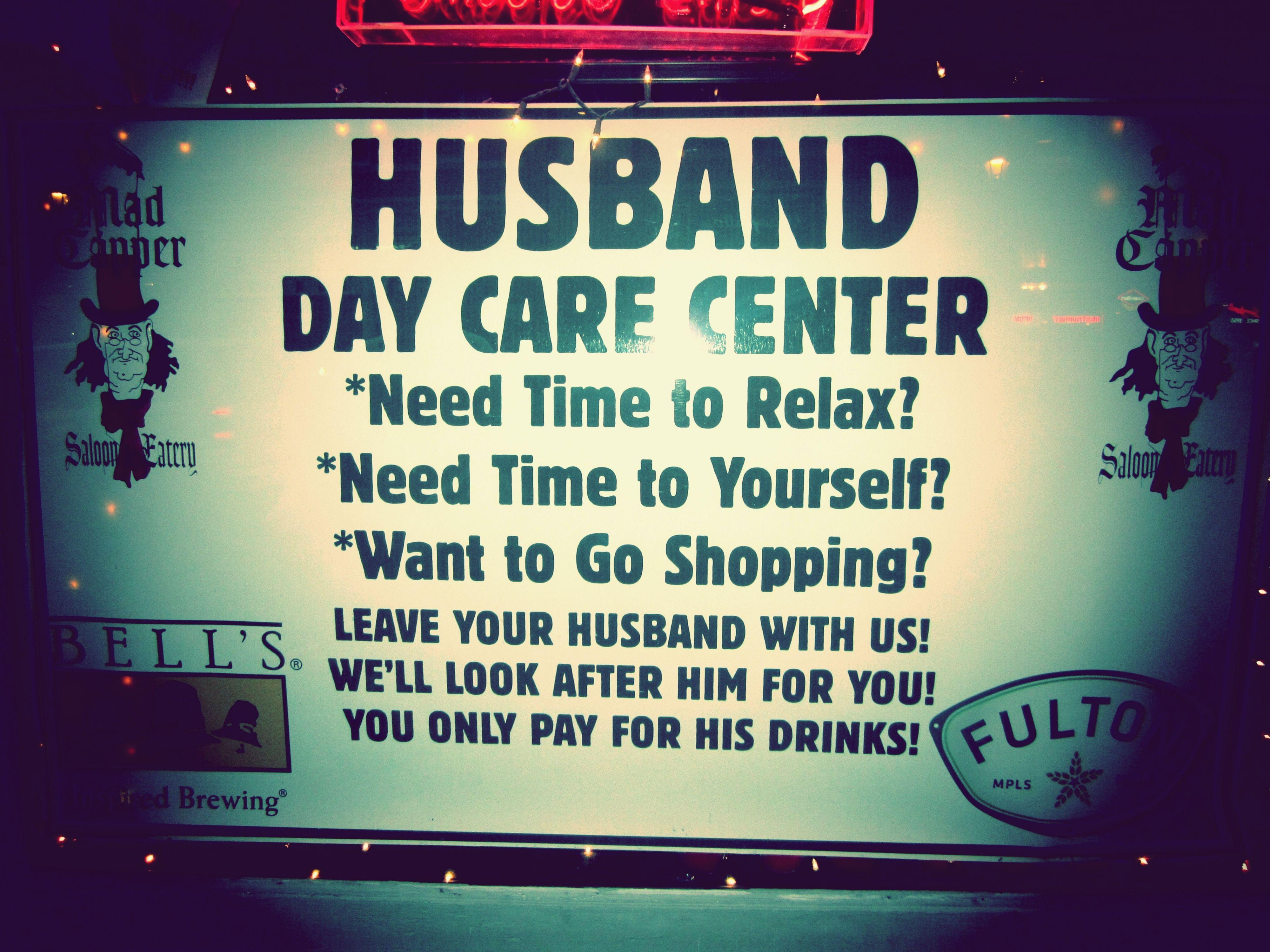 Husband Day Care Center (AKA, The Madcapper Bar) Stillwater, MN