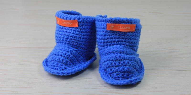Uggs für trendige Kids – Babyschuhe häkeln | Uggs