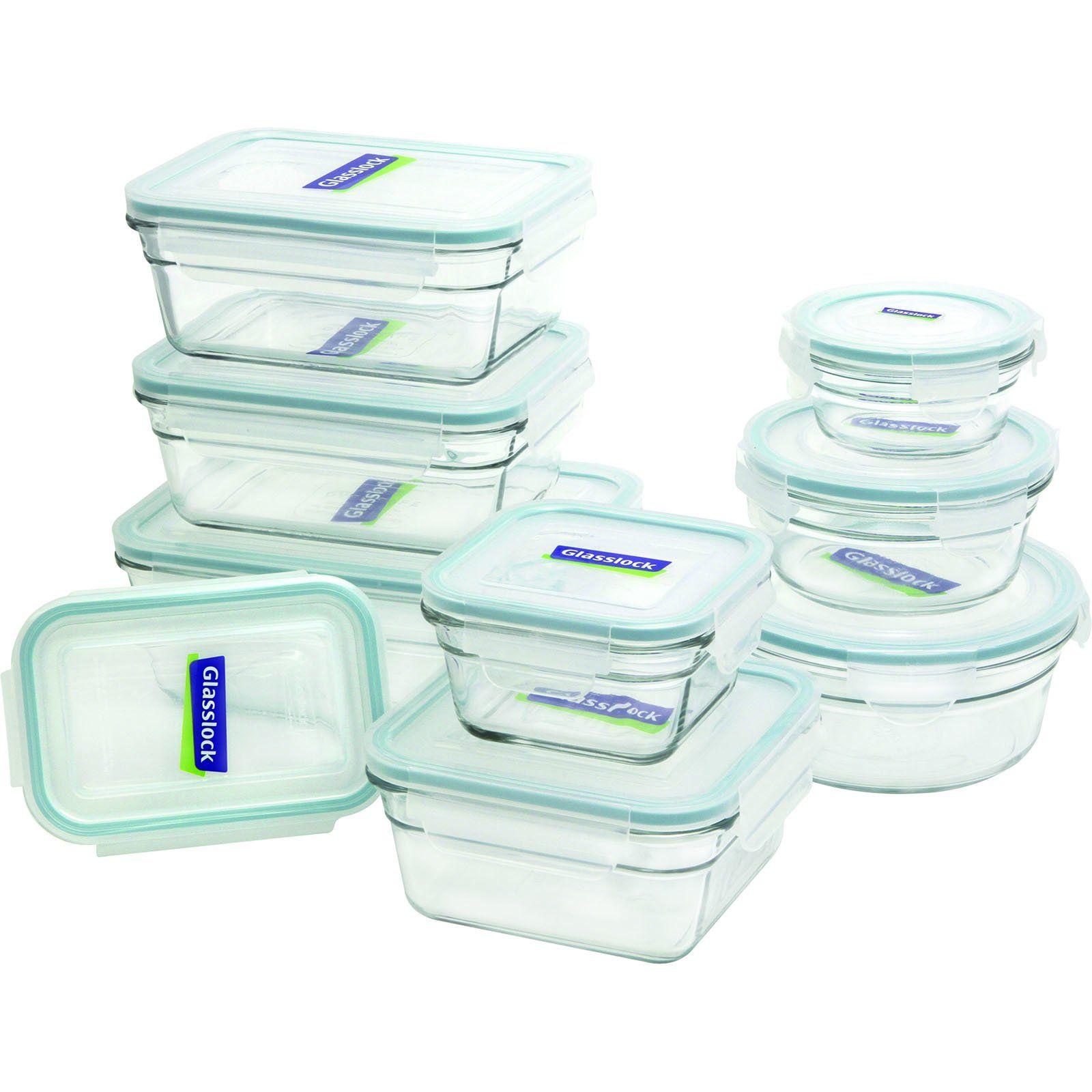 Küchen Aufbewahrungsbehälter glasslock 18 assorted oven safe container set list
