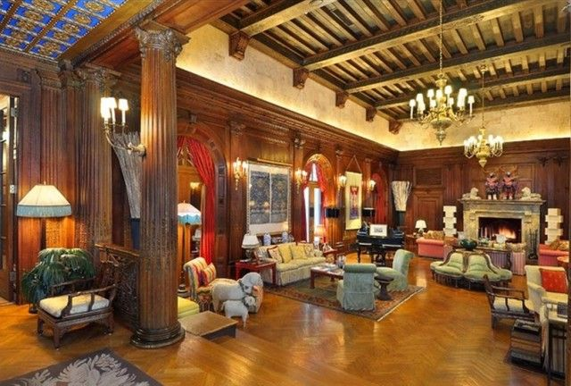 Playboy Mansion Inside House Prices Mansions Celebrity Houses