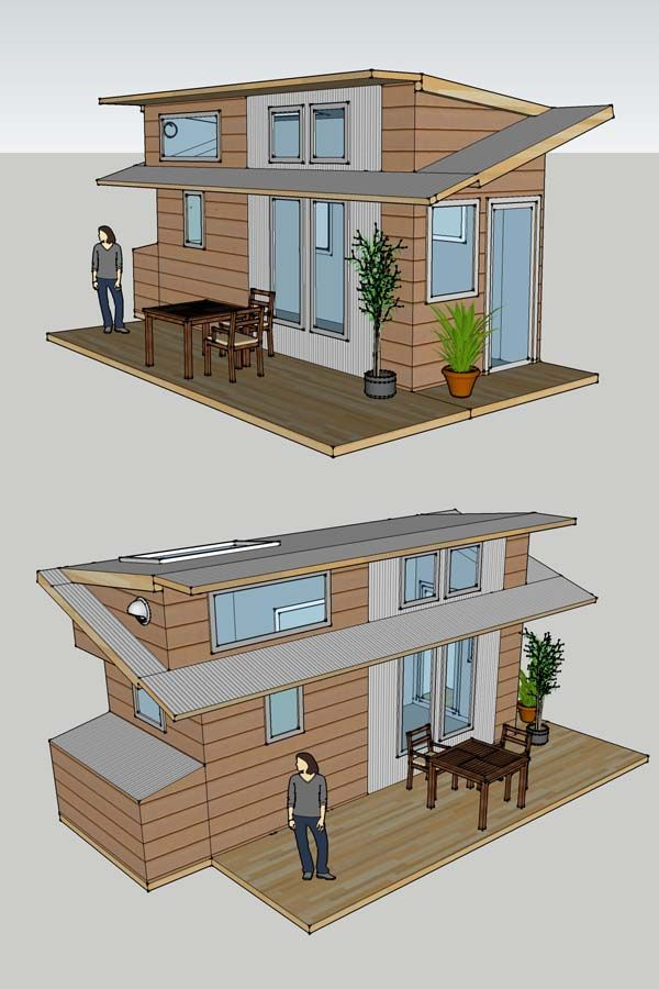 Tiny House Interior Plans another really neat monopitch roof idea. well guess its not a true