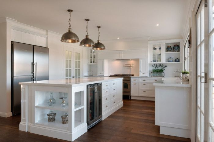 hamptons kitchen design. I am sharing 5 Hamptons style kitchen designs that have my heart  Are you a fan of kitchens as well Image result for glamour hampton house Dance moms
