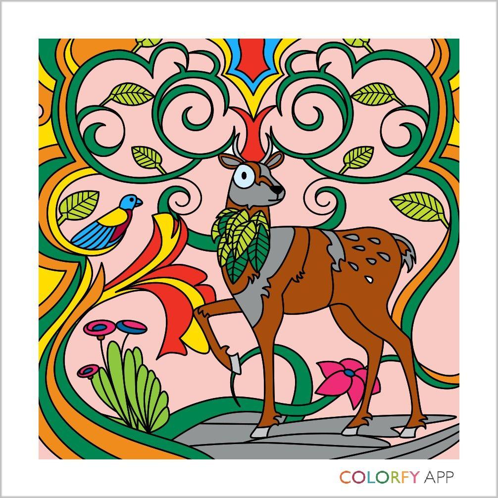 Digital Art Coloring Book