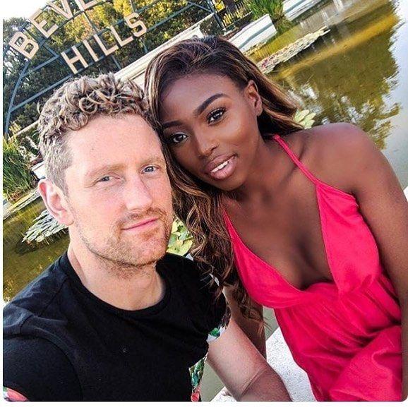 black girl white guy dating