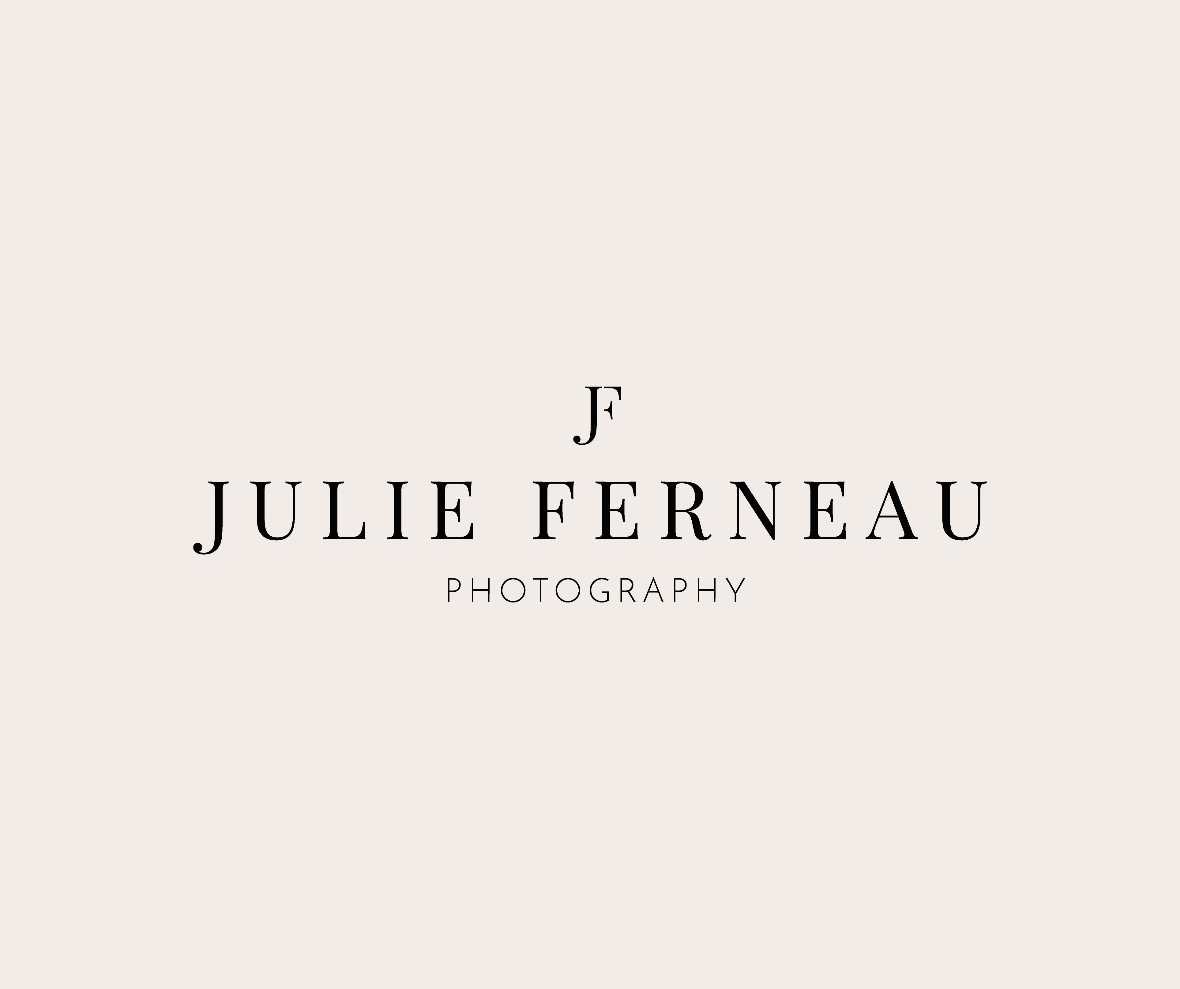 Julie Ferneau Photography Logo DesignPhotography