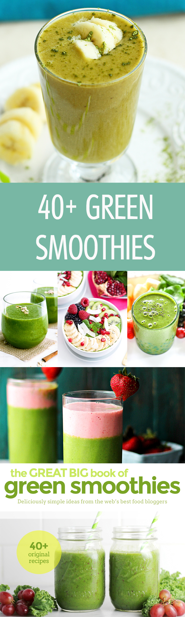 45 Brand new and original green smoothie recipes. No processed ingredients! Just healthy ways to enjoy real food and LOTS of leafy greens. PLUS You'll get these freebies....@ilonaspassion