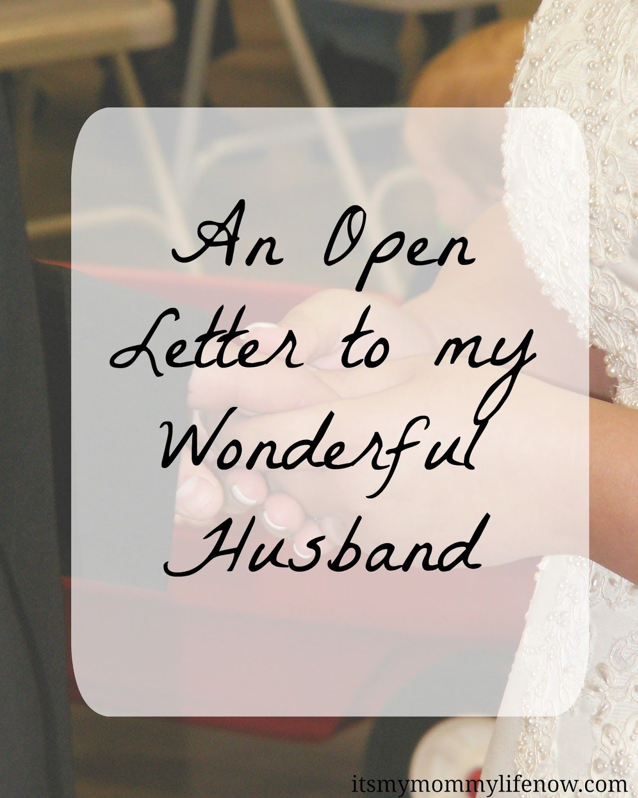Open letter to my husband open letter open letter to my husband aljukfo Images