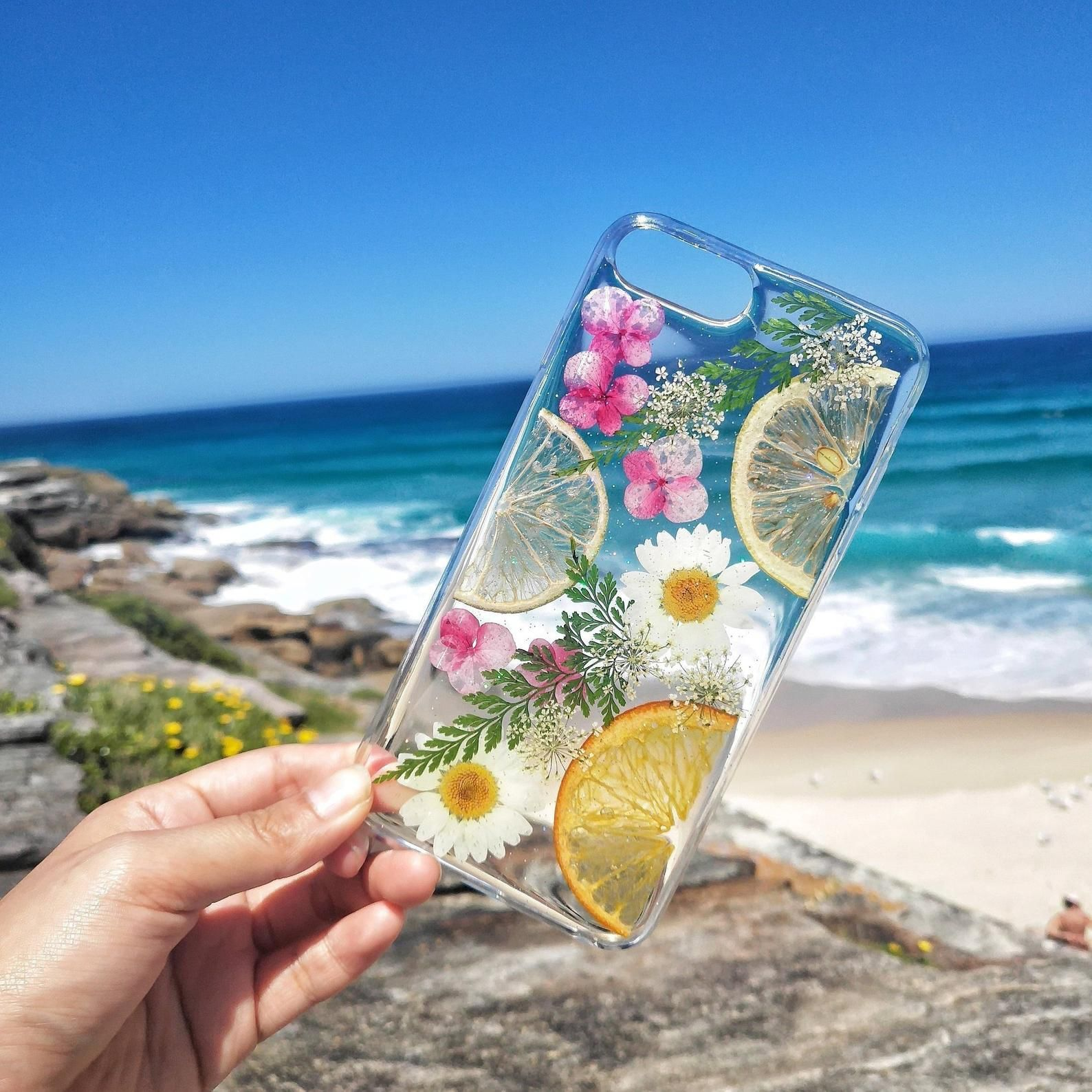 Iphone 11 pro maxpressed flower casepressed fruit phone