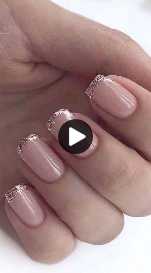 154+ stijlvolle val nagel ontwerpen en kleuren die u zult genieten van 27 ~ Modern Ontwerp van het