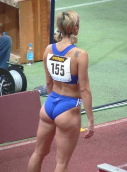 women athletes with great asses