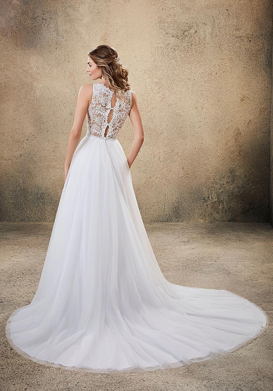 Voyage By Mori Lee Affordable Wedding Dresses Dallas Tx In 2020 Keyhole Back Wedding Dress Affordable Wedding Dresses Wedding Dresses