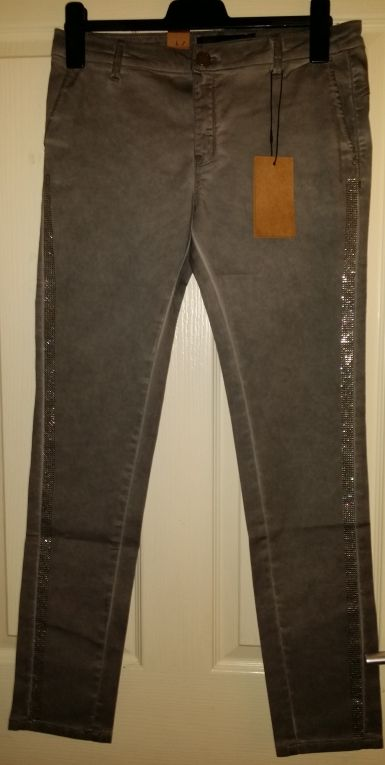 0d5366f8a4a Antraciet glitter broek SOYACONCEPT | Sale by Outlet Jan Duiven ...