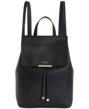 1c5ad798da Guess Varsity Pop Mini Backpack - Black Gold