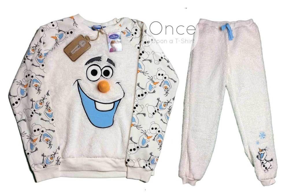 DISNEY FROZEN Primark Ladies Olaf Top T Shirt UK 6,8,10