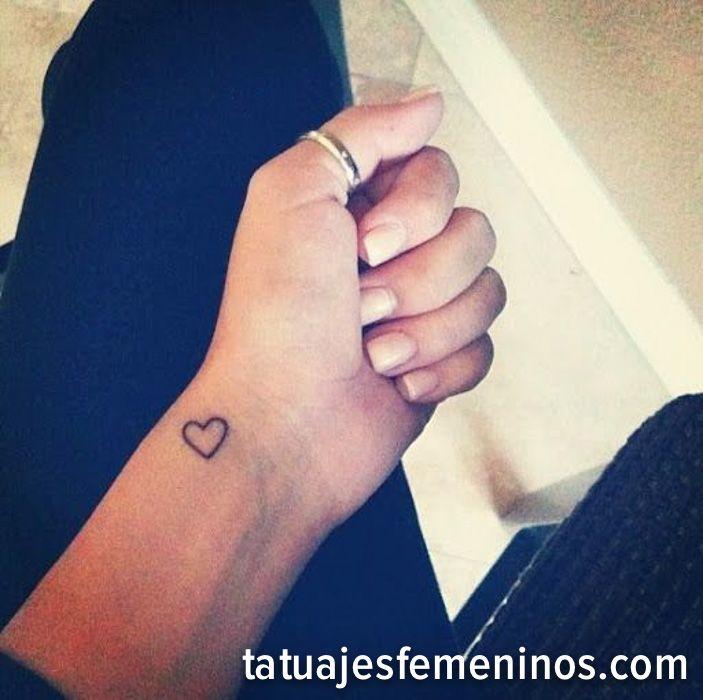 Tatuajes De Corazones Pequeños Para Mujeres 4 Tattoo Pinterest