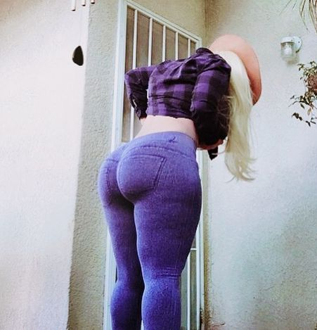 Big Booty In Jeggings
