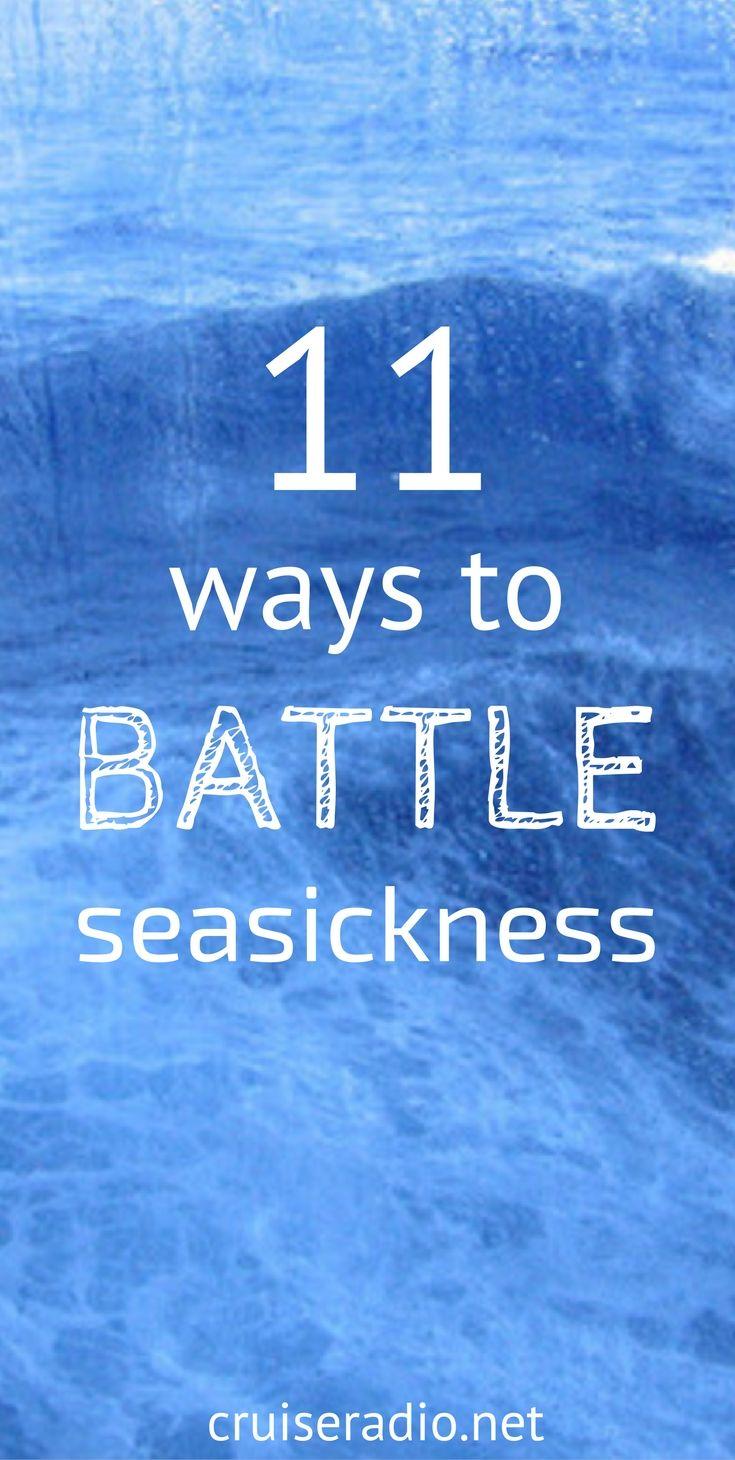 11 Ways to Battle Seasickness on a Cruise