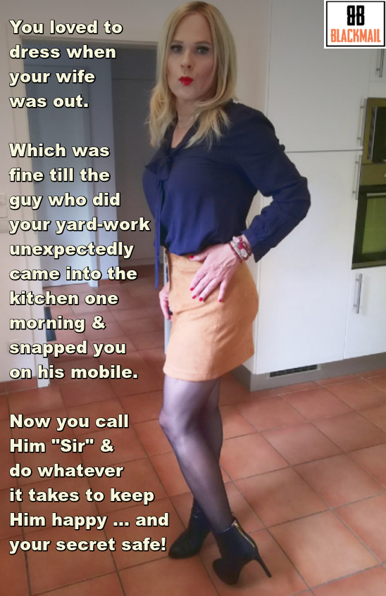 Sissy Blackmail Captions : sissy, blackmail, captions, Lovely, Captions