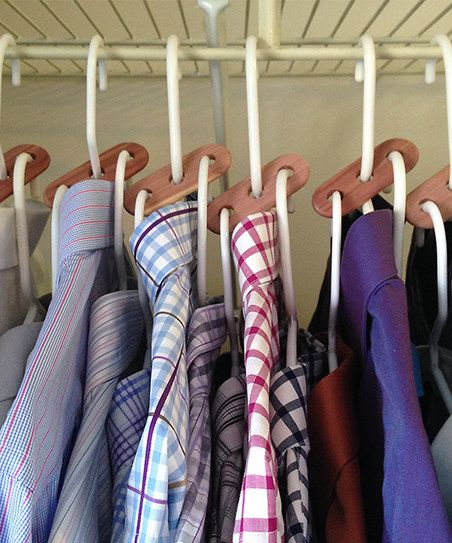 Axis Organizers Cedar Hanger Extender   Set Of Six Maximize Our Closet  Space!