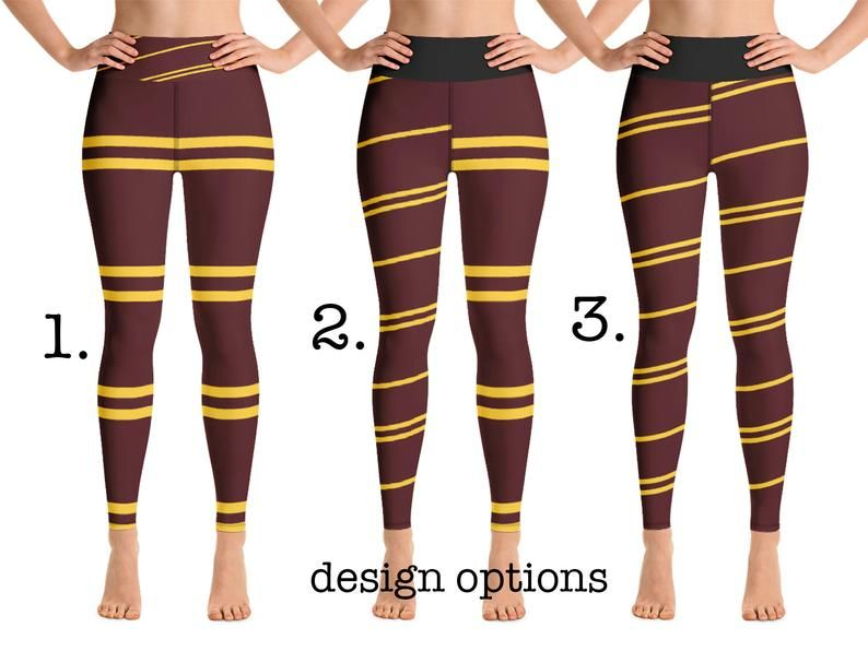 Hogwarts Yoga Leggings Women Harry Potter Costume Athletic