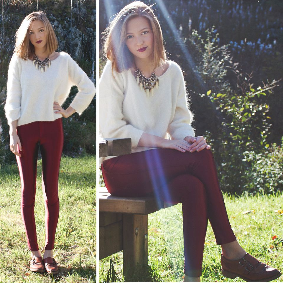 innovative sueter blanco mujer outfit 8