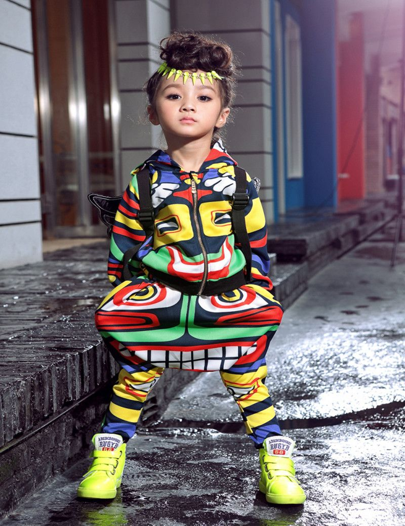 d174a9113c7 Click to Buy    New fashion maya children s clothing set dance wear Costumes  Jamaica Totem kids sport suits Hip Hop harem pants   sweatshirt  Affiliate