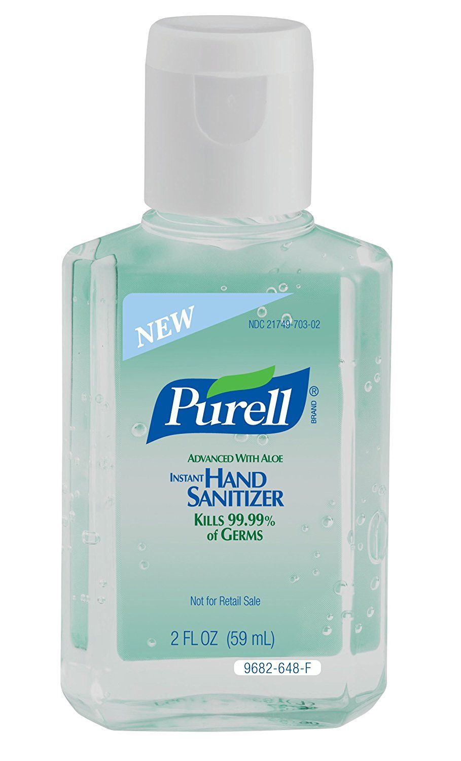 Purell 9682 24 Instant Hand Sanitizer With Aloe 2 Oz Squeeze
