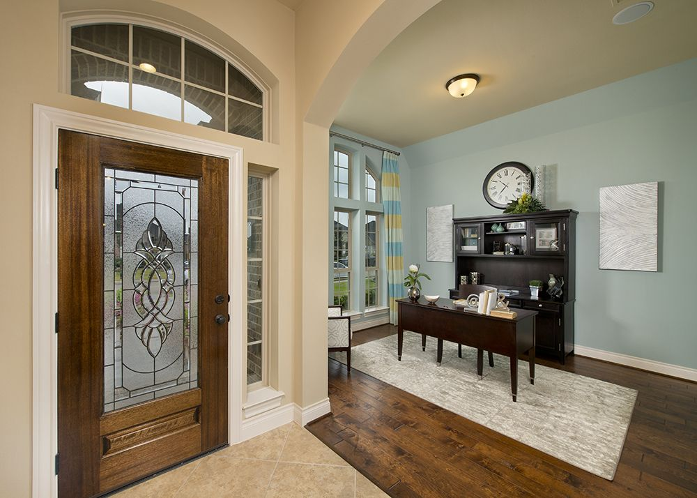 Model Home Foyer Pictures : Firethorne model home 2 942 sq. ft. foyer & study decor