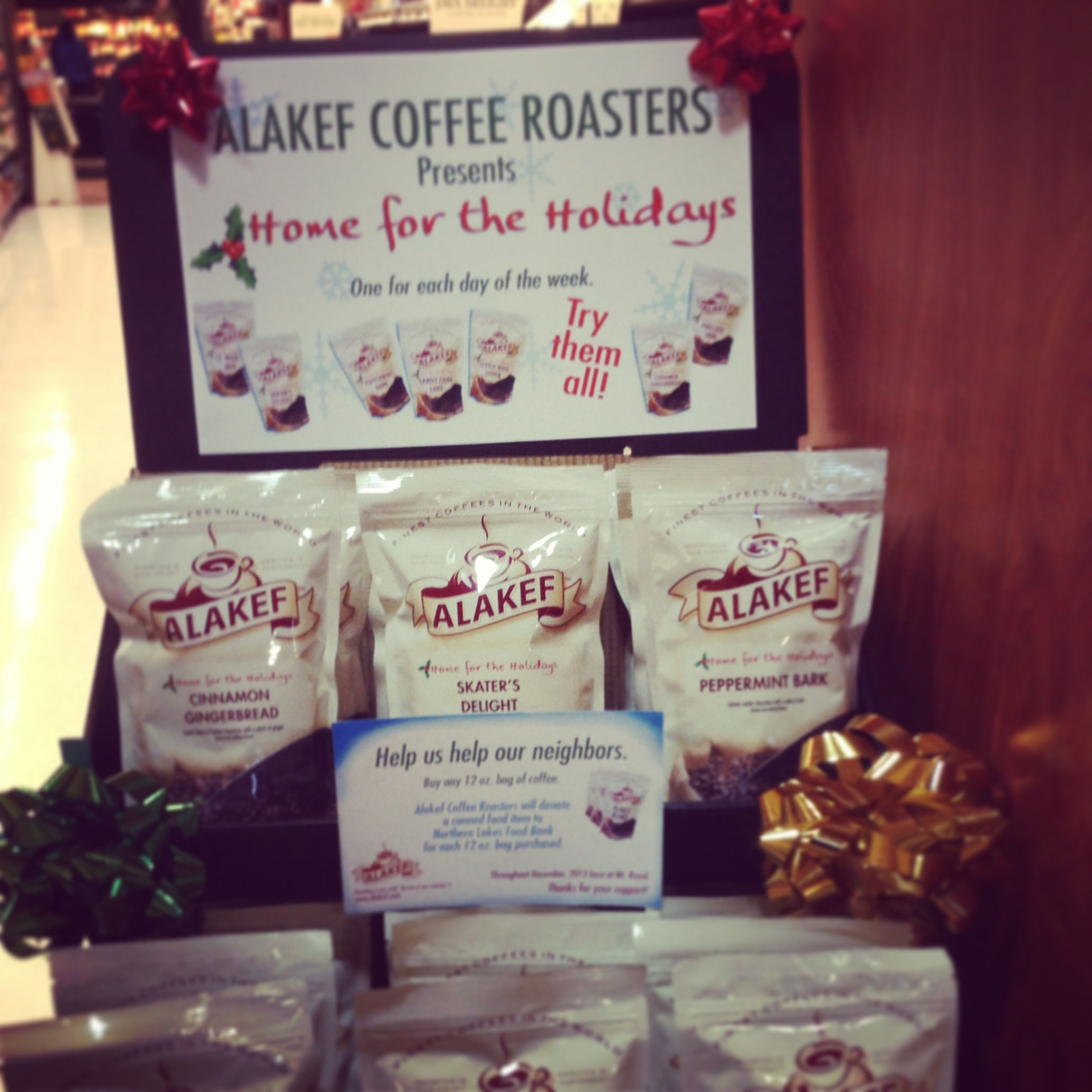 Alakef coffee roasters home for the holiday collection