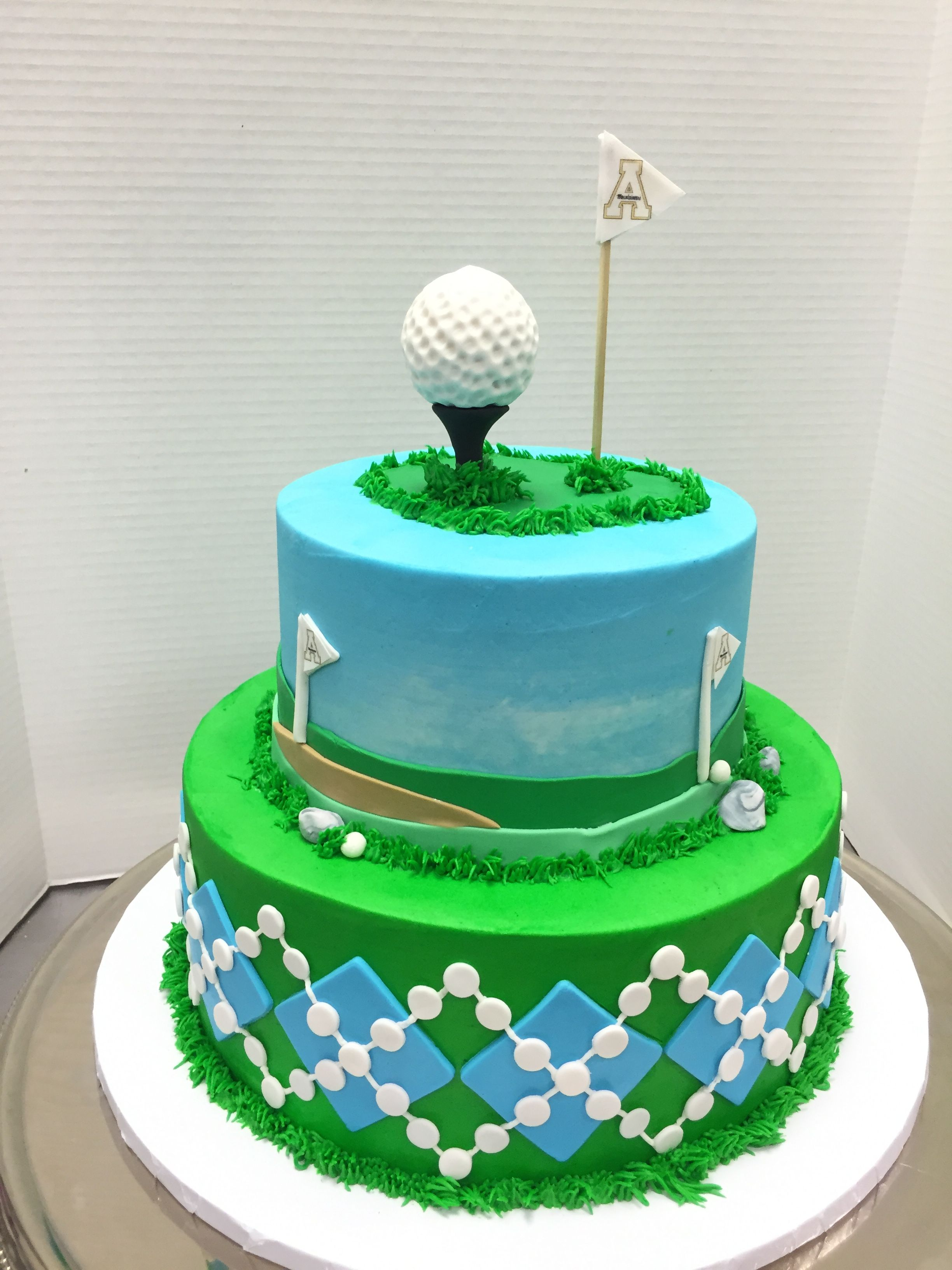 Golf Groom S Cake