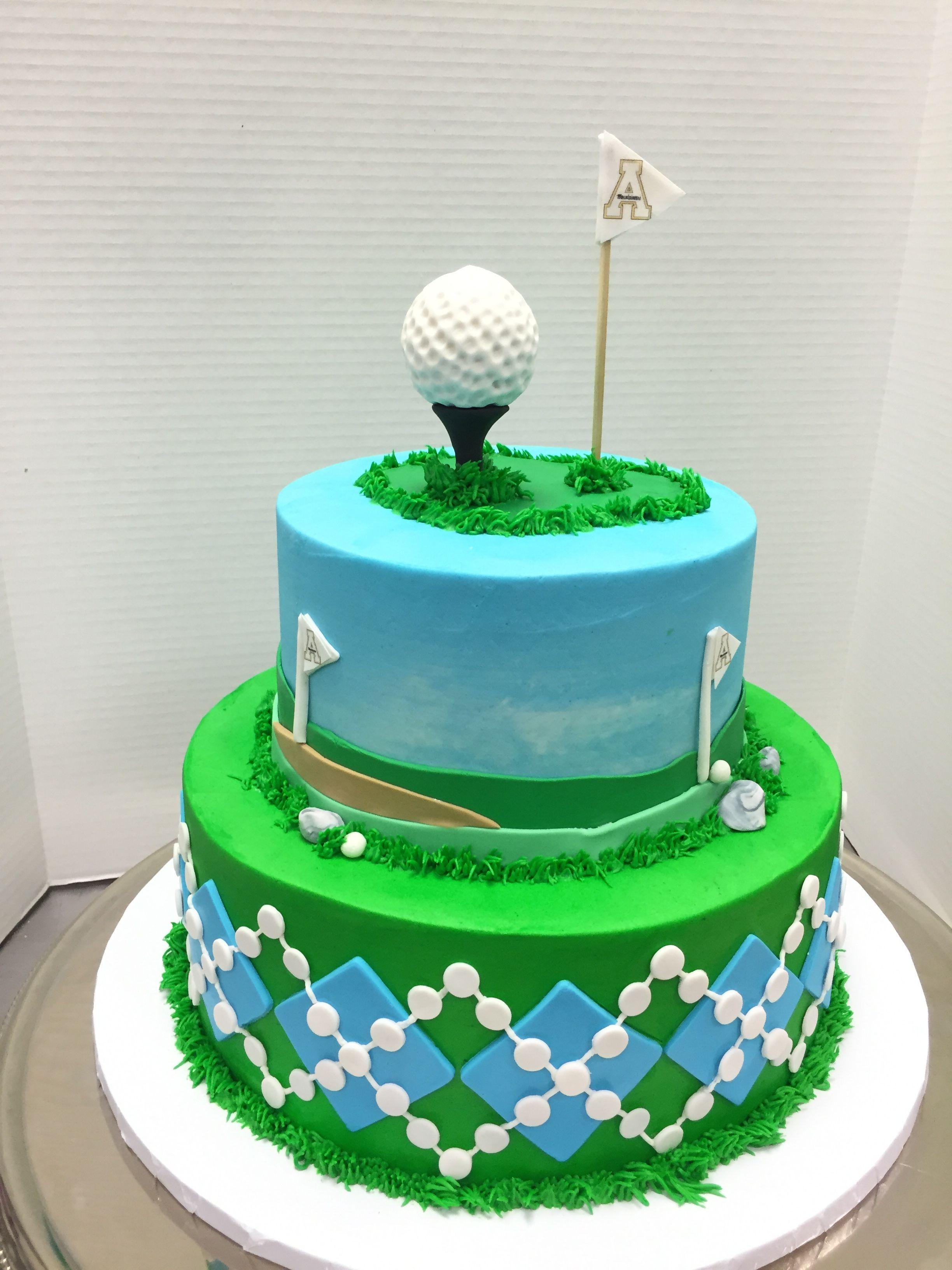 Golf Groom S Cake