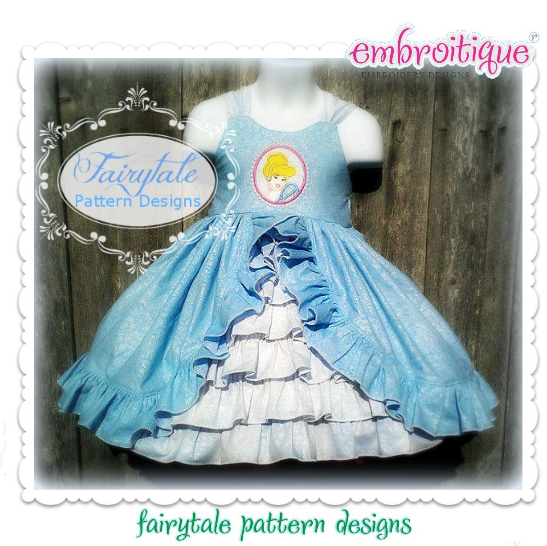 Irelyn\'s Peek-a-boo Ruffle Dress (Fairytale Pattern Designs) - 12mo ...