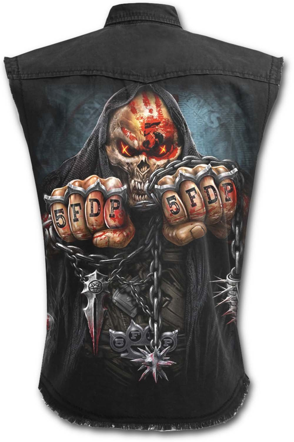 Spiral Direct Never Too Loud Vintage Cargo Shorts Metal Gothic Tattoo Biker
