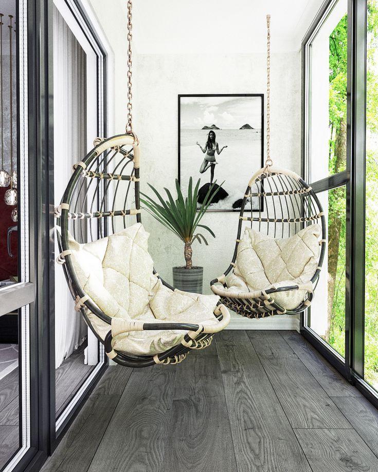 17 фото интерьер балкона 3 метра #smallbalconyfurniture