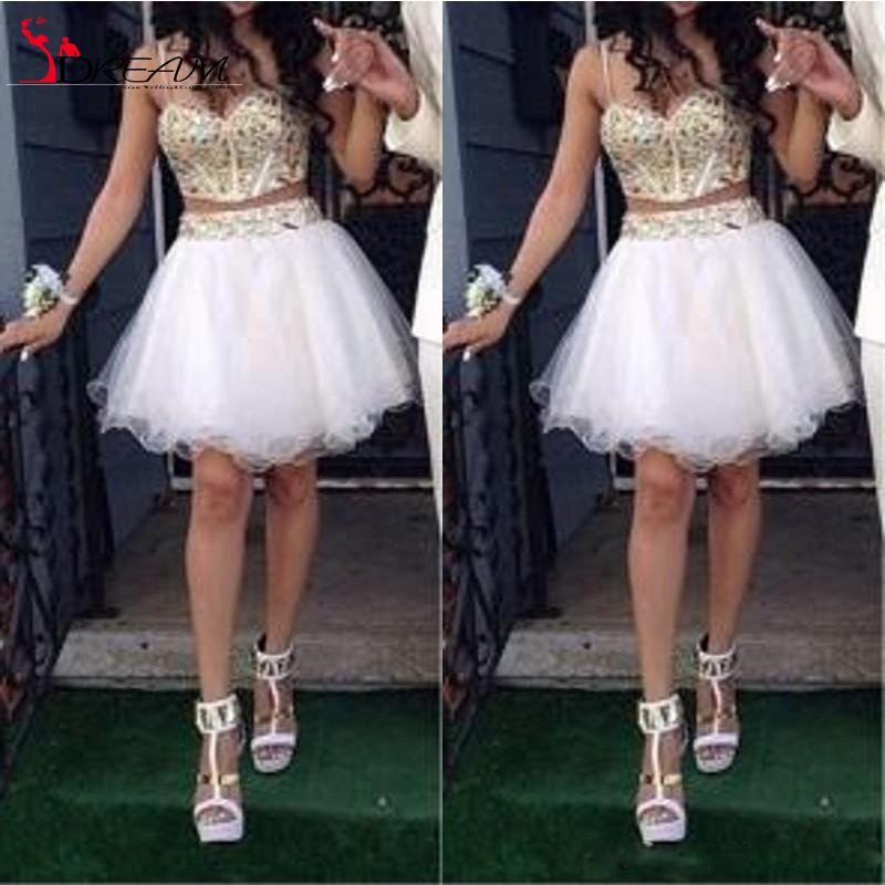 Shorts White Mini Party Dresses