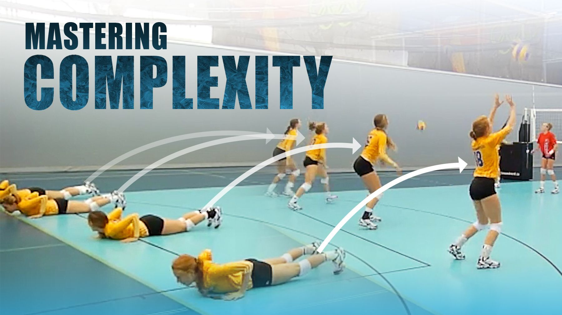 Train Players To Manage Complexity The Art Of Coaching Volleyball Volleyball Drills Coaching Volleyball Volleyball Training