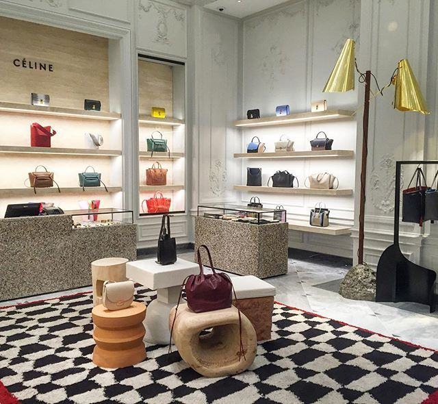 BERGDORF GOODMAN NYC The new home for #Celine handbags
