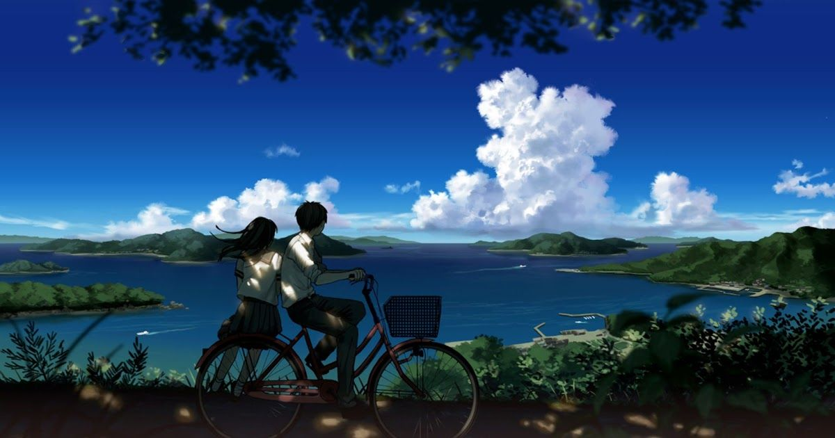 Boy And Girl Looking At Beautiful Landscape Hd Wallpaper Anime 4k Wallpapers For Your Desktop Or Mobil Anime Scenery Anime Scenery Wallpaper Scenery Wallpaper Beautiful hd anime wallpaper for
