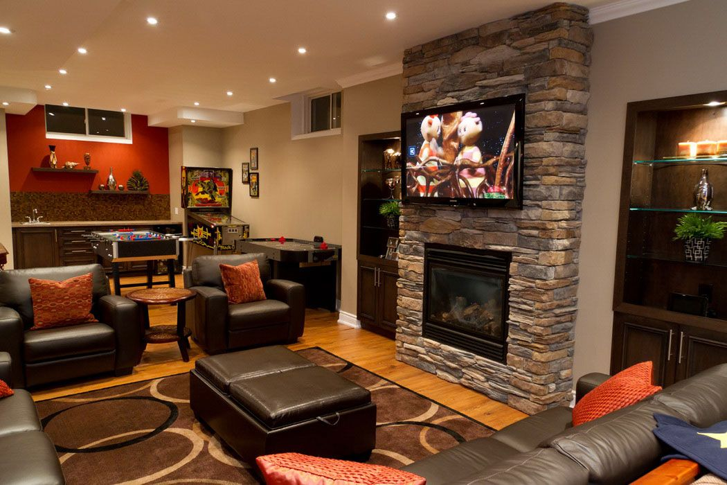 basement family rooms | small basement family room ideas 2014